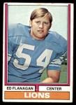 1974 Topps #111 ONE Ed Flanagan  Front Thumbnail