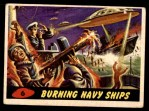 1962 Topps / Bubbles Inc Mars Attacks #6   Burning Navy Ships  Front Thumbnail