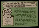 1978 Topps #446  Conrad Dobler  Back Thumbnail