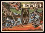 1962 Topps Civil War News #14   Fight to the Finish Front Thumbnail