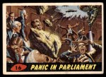 1962 Topps / Bubbles Inc Mars Attacks #16   Panic in Parliament  Front Thumbnail