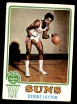 1973 Topps #81  Dennis Layton  Front Thumbnail