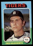 1975 Topps Mini #323  Fred Holdsworth  Front Thumbnail