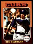 1975 Topps Mini #315  Don Kessinger  Front Thumbnail