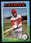 1975 Topps Mini #25  Lee May  Front Thumbnail
