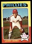1975 Topps Mini #420  Larry Bowa  Front Thumbnail