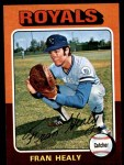 1975 Topps Mini #251  Fran Healy  Front Thumbnail
