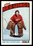 1976 O-Pee-Chee NHL #88  Jim Rutherford  Front Thumbnail