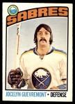 1976 O-Pee-Chee NHL #108  Jocelyn Guevremont  Front Thumbnail