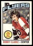 1976 O-Pee-Chee NHL #70  Bobby Clarke  Front Thumbnail