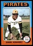 1975 Topps Mini #224  Ramon Hernandez  Front Thumbnail