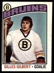 1976 O-Pee-Chee NHL #255  Gilles Gilbert  Front Thumbnail