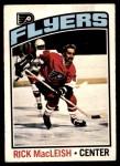 1976 O-Pee-Chee NHL #121  Rick MacLeish  Front Thumbnail