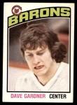 1976 O-Pee-Chee NHL #274  Dave Gardner  Front Thumbnail