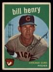 1959 Topps #46  Bill Henry  Front Thumbnail