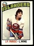 1976 O-Pee-Chee NHL #182  Jean-Paul Parise  Front Thumbnail