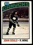 1976 O-Pee-Chee NHL #85  John Gould  Front Thumbnail