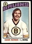 1976 O-Pee-Chee NHL #224  Hank Nowak  Front Thumbnail