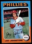 1975 Topps Mini #242  Jay Johnstone  Front Thumbnail