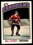 1976 O-Pee-Chee NHL #188  Bill Nyrop  Front Thumbnail