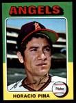 1975 Topps Mini #139  Horacio Pina  Front Thumbnail