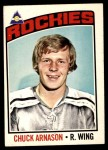 1976 O-Pee-Chee NHL #92  Chuck Arnason  Front Thumbnail