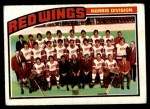 1976 O-Pee-Chee NHL #137   Red Wings Team Front Thumbnail