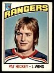 1976 O-Pee-Chee NHL #107  Pat Hickey  Front Thumbnail