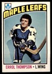 1976 O-Pee-Chee NHL #259  Errol Thompson  Front Thumbnail