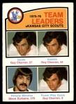 1976 O-Pee-Chee NHL #384   -  Guy Charron / Steve Durbano Scouts Leaders Front Thumbnail