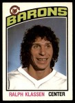 1976 O-Pee-Chee NHL #282  Ralph Klassen  Front Thumbnail