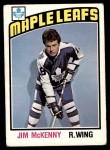 1976 O-Pee-Chee NHL #302  Jim McKenny  Front Thumbnail