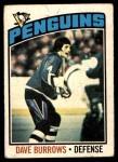 1976 O-Pee-Chee NHL #83  Dave Burrows  Front Thumbnail