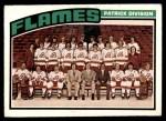 1976 O-Pee-Chee NHL #132   Flames Team Front Thumbnail