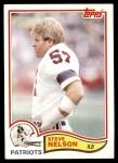 1982 Topps #158  Steve Nelson  Front Thumbnail