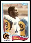 1982 Topps #381  Cody Jones  Front Thumbnail
