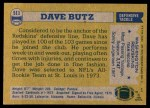 1982 Topps #511  Dave Butz  Back Thumbnail