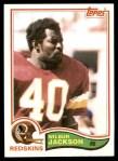 1982 Topps #512  Wilbur Jackson  Front Thumbnail