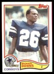 1982 Topps #313  Michael Downs  Front Thumbnail
