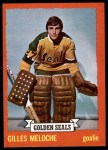 1973 Topps #175  Gilles Meloche   Front Thumbnail