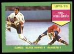 1973 Topps #196   Black Hawks 4 Rangers 1  Front Thumbnail