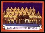 1973 Topps #98   Los Angeles Kings-Hockey Team Front Thumbnail