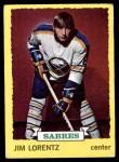 1973 Topps #171  Jim Lorentz   Front Thumbnail