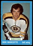 1973 Topps #89  Don Marcotte   Front Thumbnail