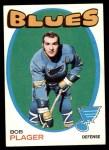 1971 Topps #103  Bob Plager  Front Thumbnail