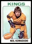 1975 Topps #238  Neil Komadoski   Front Thumbnail