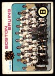 1975 Topps #81   Bruins Team Checklist Front Thumbnail