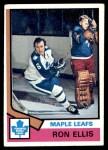 1974 Topps #12  Ron Ellis  Front Thumbnail