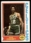 1974 Topps #133  Don Chaney  Front Thumbnail