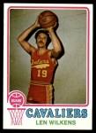 1973 Topps #165  Lenny Wilkens  Front Thumbnail